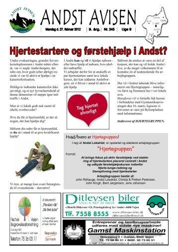 Andst Avisen uge 9 2012