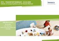 Indlæg fra Inger Rasmussen, Danisco A/S kan læses her - DTO