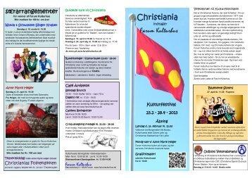 Christiania programfolder Farum PDF - Christianias lokalhistoriske ...
