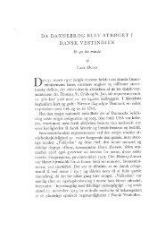 Da Dannebrog blev strøget i Dansk Vestindien, et 40 års minde, s ...