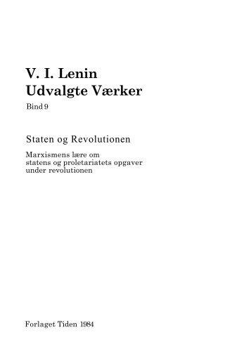 Staten og Revolutionen - Oktober