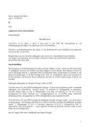 1 Den 4. oktober 2010 blev i sag nr. 21/2009-R K ... - Revisornævnet