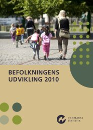 Befolkningens udvikling 2010 - Danmarks Statistik
