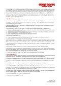 Vilkår for Netbank - Coop Bank - Page 6
