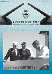 96. ÅRGANG - 2006 NR. 4 - SEP / OKT / NOV - Kystartilleriforeningen