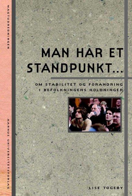 Man har et standpunkt … Om stabilitet og forandring i befolkningens ...