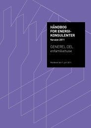 håndbog for energi konsulenter - Energimærkning af bygninger