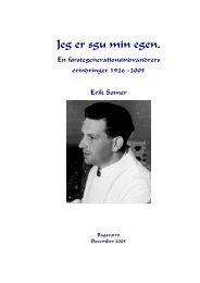 mit liv - Erik Somer