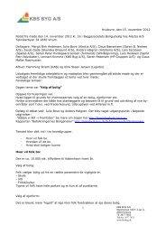 Boligudvalget 14.november 2012 - Byggesocietetet