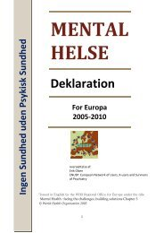 Mental Helse Deklaration