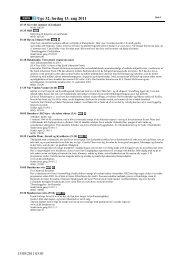 Uge 32, lørdag 13. aug 2011 - DR