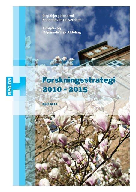 Afdelingens Forskningsstrategi - Bispebjerg Hospital