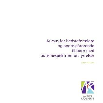 Kursus for bedsteforældre og andre pårørende til børn med ... - Auraa