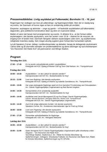 Program - DFUNK