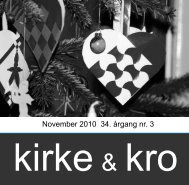 November 2010 34. årgang nr. 3 - Nødebo Kro