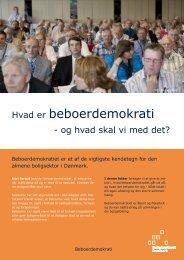 Hvad er beboerdemokrati - Boligkontoret Danmark