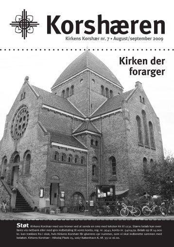 Kirken der forarger - Kirkens Korshær Køge