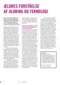 Ældres forståelse af aldring og teknologi - Lev Vel - Page 2