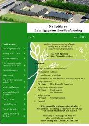 Nyhedsbrev Lemvigegnens Landboforening - Noatun