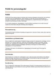 Politik for personalegoder.pdf - Syddansk Erhvervsskole