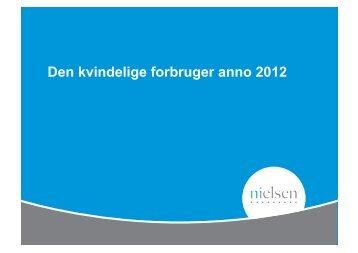 Den kvindelige forbruger anno 2012 - LoweFriends