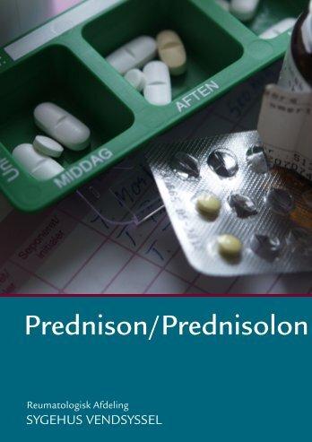Prednison/Prednisolon - Sygehus Vendsyssel