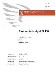16. januar 2006 - Kolding Kommune