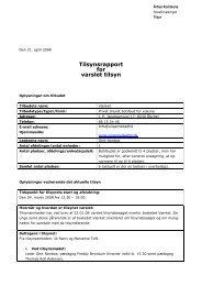 Varslet tilsyn Værket 4. marts 2008 (pdf 96 KB) - Aarhus.dk