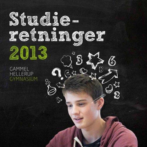 Studieretninger - Gammel Hellerup Gymnasium