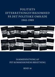 Sammenfatning af pet-kommissonens beretning (bind 16)