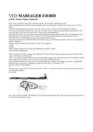 VED MARIAGER FJORD - Lokalhistorisk arkiv for Als og omegn