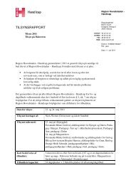 Tilsynsrapport 3kløveren 2011 - Den Sociale Virksomhed
