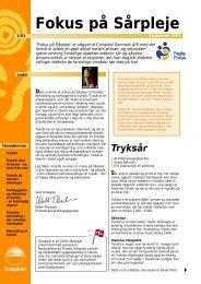 Fokus på sårpleje 1/01 ny - Coloplast