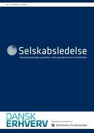 Selskabsledelse - Dansk Erhverv
