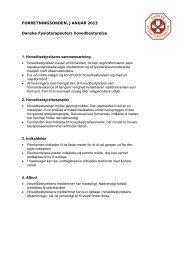 rev. januar 2013 - Danske Fysioterapeuter