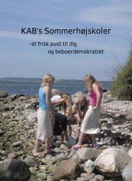 KAB's Sommer højskoler