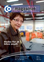 Risiko for at blive snydt - CO-industri