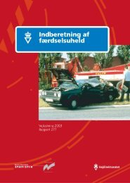 Indberetning af færdselsuheld - Vejdirektoratet