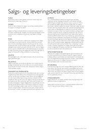 Salgs- og leveringsbetingelser - Monier