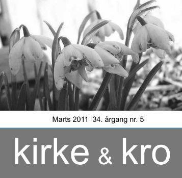 Marts 2011 34. årgang nr. 5 - Nødebo Kro