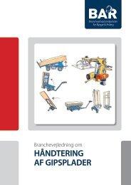 190. Hent Håndtering af gipsplader - tryk - BAR Bygge & Anlæg