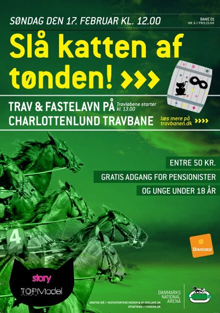 søndag den 17. februar 2013 - Charlottenlund Travbane