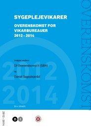 Overenskomst for vikarbureauer. Endelig udgave 2010-2012 ... - DI