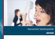 Overordnet telefonpolitik - Frederikshavn Kommune
