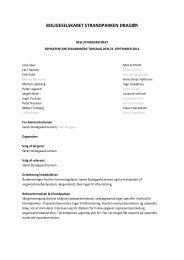 Referat af repræsentantskabsmøde 22-09-2011 - Boligselskabet ...