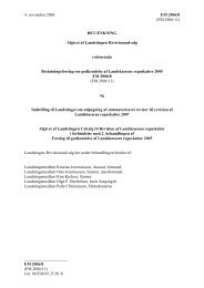 Betænkning afgivet til 2. behandling - Inatsisartut