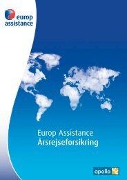 Europ Assistance Årsrejseforsikring - Apollorejser