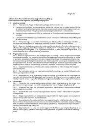 (FA) og Finansforbundet om regler for behandling af faglig strid