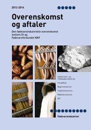 Den fødevareindustrielle overenskomst mellem DI og ... - Nnf