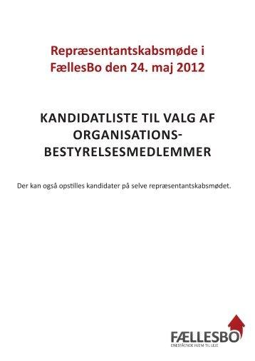 Bestyrelses- og tillidsposter - FællesBo